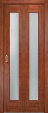 Дверь Лагуна 2 складная (Оникс)
